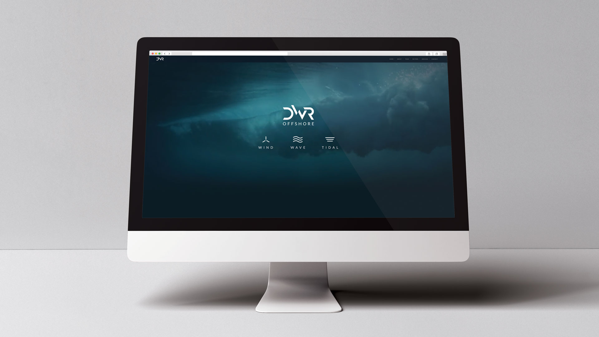 Website creation | DWR Offshore | Creative design and marketing for the marine offshore industry