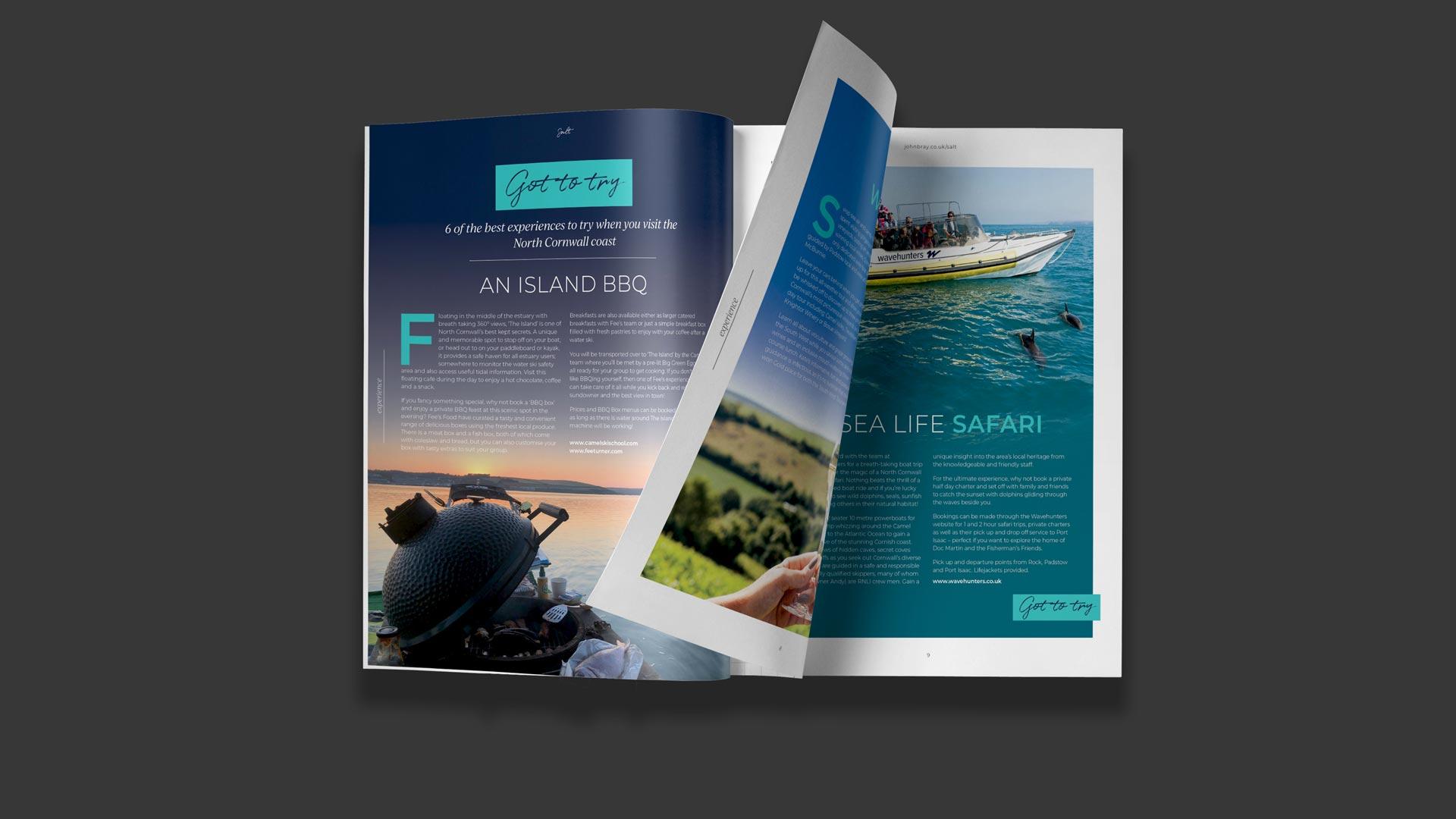 real estate magazine design