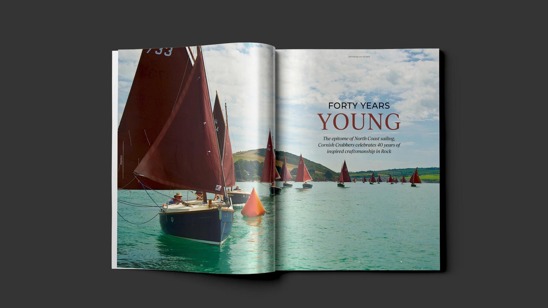 cornwall magazine designers for property, estate agents and architects